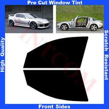 Pellicola Oscurante Vetri Auto Anteriori per Mazda RX8 Coupè 4P 03-08 da 5% a70%
