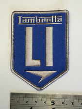 Lambretta LI BLUE Patch - Embroidered - Iron or Sew On