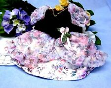Schildkröt Puppenkleidung, festliches Kleid für 34 cm Puppen mit 21 cm Umfang