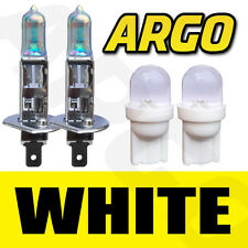 H1 XENON WHITE HEADLIGHT BULBS VAUXHALL ASTRA VXR OMEGA