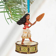 New Disney Store MOANA Singing Christmas Tree Decoration Sketchbook 2016