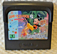 SEGA GAME GEAR LAND OF ILLUSION STARRING MICKEY MOUSE GAME CARTRIDGE ONLY