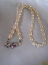Fresh Water Cultured Pearl Necklace Set of Pearls Bridal
