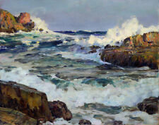 Butler Howard Clearing After September Gale Maine Coast Print 11 x 14  #6096