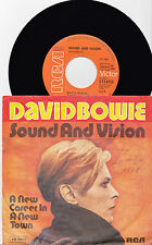 "7"" VINYL- SINGLE: DAVID BOWIE- Sound And Vision"
