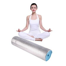 Blue 180x50x0.6cm Aluminium Foam Picnic Yoga Fitness Outdoor Exercise Pad Mat SY