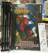ULTIMATE SPIDER-MAN DELUXE N.1-2-3-4-5 - Ed. PANINI COMICS - SCONTO 20%