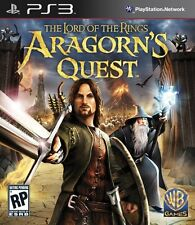 THE LORD OF THE RINGS ARAGORN'S QUEST PS3 MOVE Game (PRE OWNED) (USED)
