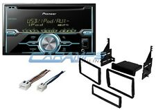 NEW PIONEER STEREO RADIO W CD PLAYER W AUX/USB INPT & INSTALL KIT W/ HARNESS