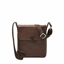 Fossil Estate Mercer Slim City Shoulder Brown Bag MBG9200200