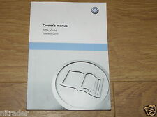 Volkswagen Jetta Owners Manual Handbook 2011 - 2016