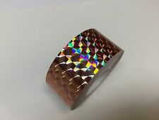"""Colored PRISM Tape, Choose your Colors and Sizes, Holographic 1/4"""" Mosaic"""