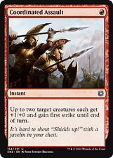 4x 4 x Coordinated Assault x4 UNCOMMON Conspiracy: Take the Crown MTG MINT