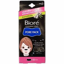 Biore Cleansing Nose Strips Pore Pack With Bamboo Charcoal 10 Strips