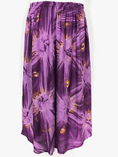 Purple Star Burst Tie Dye PALAZZO WIDE LEG DRESS PANTS PLUS SIZE 4X 5X Inseam 25
