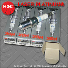 NGK LASER PLATINUM SPARK PLUG SET BKR6EQUP x 4 STOCK NO. 3199 BMW MINI