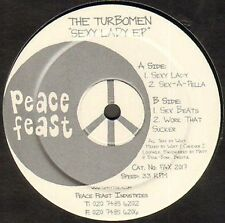 THE TURBOMEN - Sexy Lady EP - PEACE FEAST
