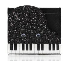 NWT $78 Kate Spade jazz things up piano card holder case!