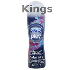 DUREX PLAY PERFECT GLIDE SILICONE Long Lasting LUBRICANT LUBE SEX AID 50ML