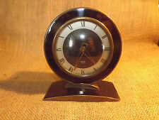 VINTAGE DECO STYLE GLEN MANTEL CLOCK 6IN TALL MADE IN SCOTLAND CLOCKWORK