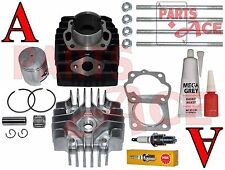 SUZUKI LT 50 LT50 PISTON RINGS CYLINDER GASKET TOP KIT SET 1984 - 1987 BRAND NEW