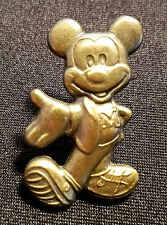 RARE DISNEY PINS BY MONOGRAM BRASS CHARACTER SERIES MICKEY IN TENNIS SHOES PIN