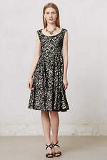NWT Anthropologie Flared Lace Dress Size 4