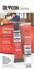 NEW DEVCON S205 CLEAR 2 PART HIGH STRENGTH 5 MIN EPOXY GLUE WATERPROOF ADHESIVE