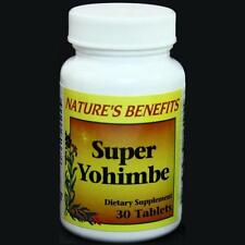 SUPER YOHIMBE Promotes Male Potency, Vitality, Sexual Health Energy and Stamina