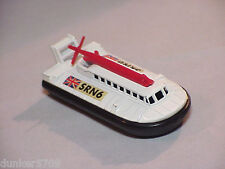 HOVERCRAFT #72 & #2 DIECAST BY LESNEY MADE IN ENGLAND 1972 - SRN6