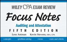 Wiley CPA Examination Review Focus Notes: Auditing and Attestation (Wiley Cpa Ex