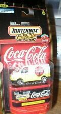 MATCHBOX COCA COLA 1955 FORD TRANSIT VAN MINT ON CARD