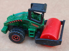 2013 Matchbox ROAD ROLLER 48/120 MBX Construction LOOSE Green