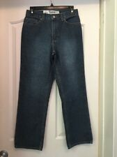 NWT GAP 145 Blue Loose Wide Leg Jeans Size 6A