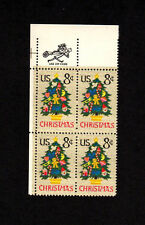 SCOTT # 1508 Christmas Issue United States U.S. Stamps MNH - Zip Block of 4