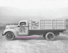 OLD EXPORT BEER STAKE BODY TRUCK 8.5X11 PHOTO KEYSER BOTTLING WORKS KEYSER WV