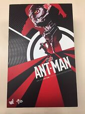 Hot Toys MMS 308 Antman Ant Man Scott Lang Paul Rudd 12 inch Action Figure USED