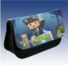 Dan TDM Diamond Minecraft Pencil Case - Can Be personalised
