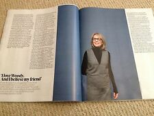DIANE KEATON interview MARC QUINN UK 1 DAY ISSUE 2014 BRAND NEW