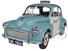 1963 MORRIS MINOR 1000 UK POLICE PANDA CAR 1/12 DIECAST MODEL BY SUNSTAR 4785