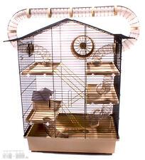 XXL Nagerkäfig Hamsterkäfig Mäuse Ratte inklusive gigantischem Röhrensystem