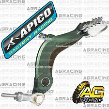 Apico Green Rear Foot Brake Pedal Lever For Ossa TR 300 2012 12 Trials New