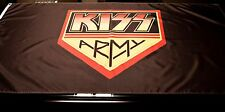 HUGE Kiss Army Flag 3'X5'  Very nice item