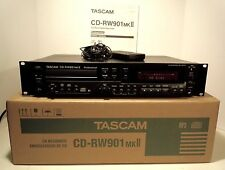 TASCAM CD-RW901MKII CD Rewritable Recorder New Never Used!!!