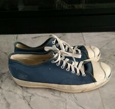 Vintage Converse Jack Purcell made in USA Blue 10 5 11