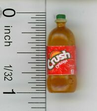 Dollhouse Miniature 2 Liter Bottle of Orange Soda Pop by Cindi's Minis
