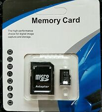 Class 10 Micro SD Memory Card 32GB Capacity with Adapter And Retail Packing