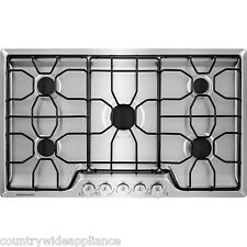 "Frigidaire Stainless Steel 36"" Gas Cooktop Sealed Burners FFGC3610QS"