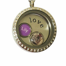 On Sale: Beautiful Handmade Photo Charm for Floating Locket Necklace