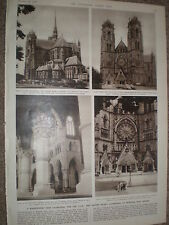 Photo article Sacred Heart Cathedral Newark New Jersey USA 1954 ref X3